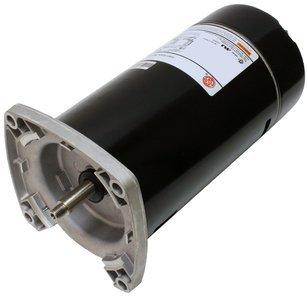 (1 hp 3450 RPM 48Y Frame Square Flange 115/230V Pool Motor US Electric Motor # ASQ125)