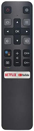 Voice Replacement Remote Control Applicable for TCL TV 40S330 32S330 43S435 50S435 55S435 65S435 75S434 43S434 50S434 55S434 65S434