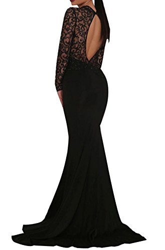 long black prom dress - 9
