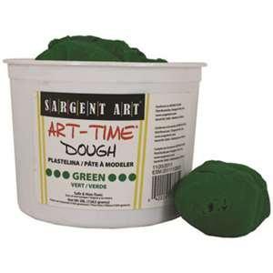 3Lb Art Time Dough - Green By Sargent Art Inc.