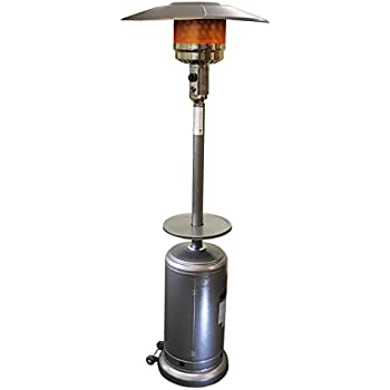Sunheat International Umbrella Shaped Propane Based Patio Heater, Commercial  Patio Heater, Outdoor Space Heater