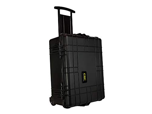 Common Sense Cases 5006 Equipment Hard Case With DIY Foam - Weather Resistant - Black - Internal Dimensions: 21