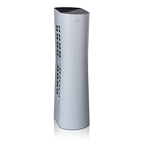 Alen Paralda Dual Airflow Tower Air Purifier to Remove Allergies, Mold & Bacteria, 500 Sq Ft, in White
