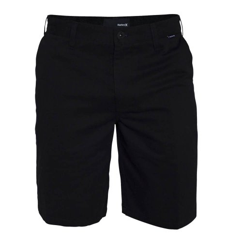Hurley BWS0000200 Boys One And Only Chino Walkshorts,Black,24 (Hurley Black Belt)