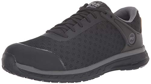 Timberland PRO Men's Drivetrain Composite Toe EH Industrial Boot, Black mesh, 10.5 W US ()