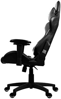 Arozzi Verona V2 Advanced Racing Style Gaming Chair with High Backrest, Recliner, Swivel, Tilt, Rocker and Seat Height Adjustment, Lumbar and Headrest Pillows Included, Black 31lmec8miTL