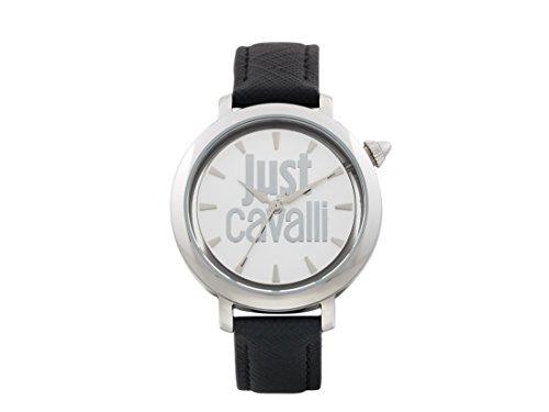Just Cavalli LOGO Logomania Women's Silver Watch