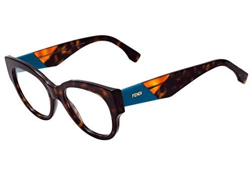 Fendi Facets Ff 0271 - Óculos De Grau 086 Marrom Mesclado Br