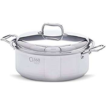 Amazon Com 360 Stainless Steel Stock Pot With Lid