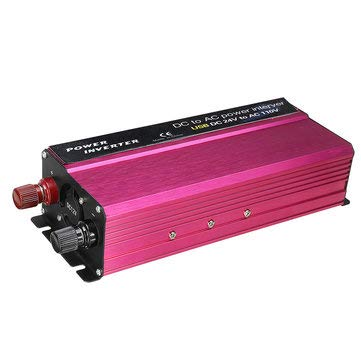 1500W LED Solar Power Inverter 12/24V To 110/220V Modified Sine Wave Converter - Electrical Equipment & Supplies Power Inverter - (24V-220V)