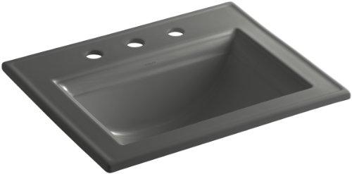 KOHLER K-2337-8-58 Memoirs Self-Rimming Bathroom Sink with Stately Design and 8