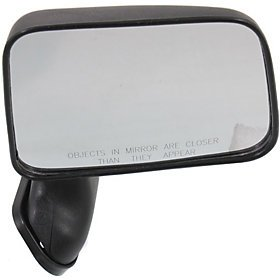 1992 Toyota Parts (For TOYOTA PICKUP 89-95 SIDE MIRROR RIGHT PASSENGER, DOOR MOUNT FOLDING, KOOL-VUE Description change to:For TOYOTA PICKUP 89-95 MIRROR RH, Black, Door Mount Foldaway, w/ Vent Window, w/ Single Glass Mirrors)