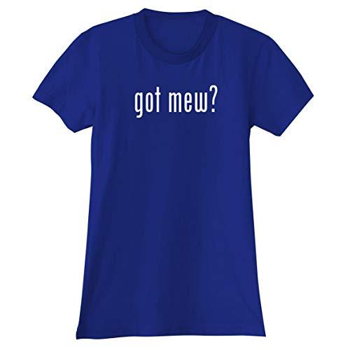 The Town Butler got mew? - A Soft & Comfortable Women's Junior Cut T-Shirt, Blue, XX-Large]()