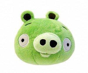 Angry Birds 5-Inch Plush - Green Pig (Bird Green Plush)