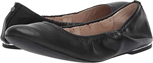 BCBGeneration Women's Georgia Ballet Flat, Black, 10 M US