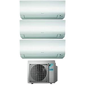 Climatizzatore Trial Split 9000 + 9000 + 12000 Btu, Inverter, Classe A+++/A+++ Gas R32 Wi-Fi Perfera 31lmmNQwDCL. SS300