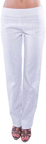 Mujer La Óptico blanco Para Higuera Grazalema Blanco Lea De Pantalones rCYrw7q
