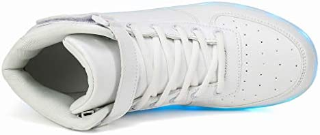 Voovix Unisex LED Shoes Light Up Shoes High Top Sneakers - 1