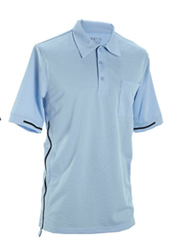 Smitty Pro Style Powder Blue Umpire Shirt (Large) ()
