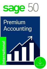 Sage 50 Premium Accounting 2 User 2018 Basic Support - INTERNATIONAL ONLY