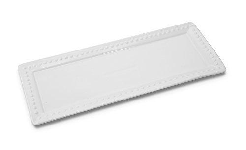 KOVOT Ceramic Rectangular Platter Set   3 Piece Porcelain Platter Set Includes (1) Large, (1) Medium, (1) Small by Kovot (Image #2)