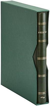 Pardo 125504 - Album sellos, color verde: Amazon.es: Oficina y papelería