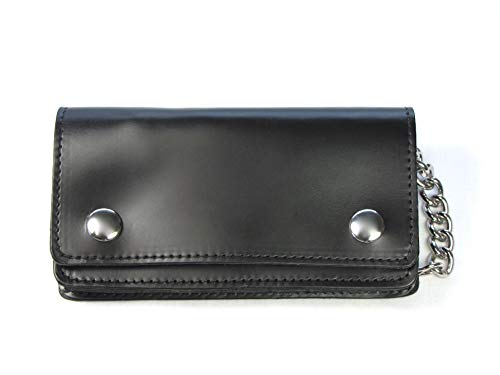 Legacy Leather - Legacy Leather Goods Men's Biker Chain Wallet 6.25