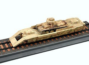 Trumpeter 1/35 WWII German Army Panzertragerwagen Tank Transport Flat Car