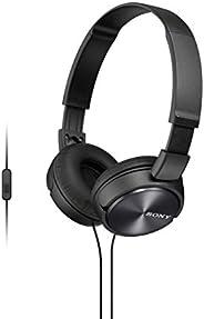 Sony MDR-ZX310 - Fone de Ouvido com Microfone, Preto