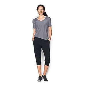Under Armour Women's Got Game Ankle Crop, Black/Black, Medium