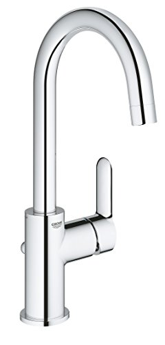 GROHE 23760000 | BauEdge Basin Mixer | L | Pop-Up Waste