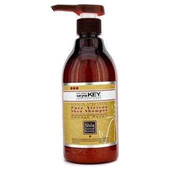 Shea Butter Mega Moisture - Saryna Key Shea Butter Moisture Treatment Shampoo, Shea Hair Shampoo for Damage Repair, Natural Shea Butter Moisturizing Shampoo with Pure African Shea Butter - 500ml/ 16.9 FL.oz