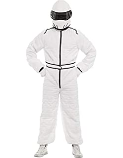 The Stig Top Gear Costume Adults Racing Car Driver Fancy Dress Stag Mens Outfit
