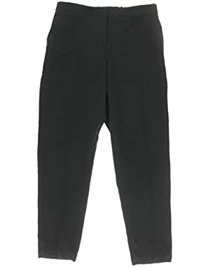 Theory Womens Padra Crepe Pleated Pants