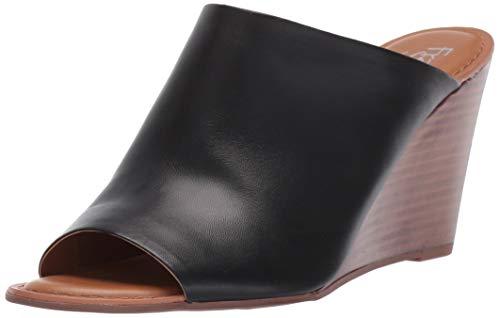 Franco Sarto Women's Yasmina Wedge Sandal Black 9.5 M US from Franco Sarto