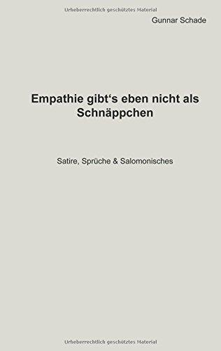 Empathie Gibt´s Eben Nicht ALS Schnäppchen (German Edition) pdf epub