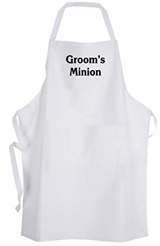 Groom's Minion - Adult Size Apron - Wedding Groom Bachelor Party Groomsmen -