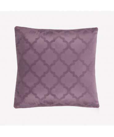 10XDIEZ Funda DE COJÍN 45X45 16508 Purpura - Color - Lila ...