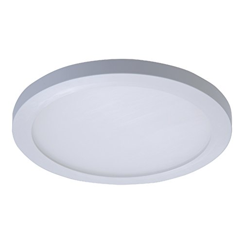 Inch White 5 Trims (Halo SMD6R6940WH SMD 4000K Integrated LED Surface Mount/Recessed Round Trim, 5