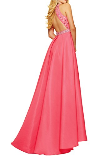Lo Chiffon Gown Dress Party Hi Back Evening Dress Avril Exquisite Chocker White Open PU8Yq