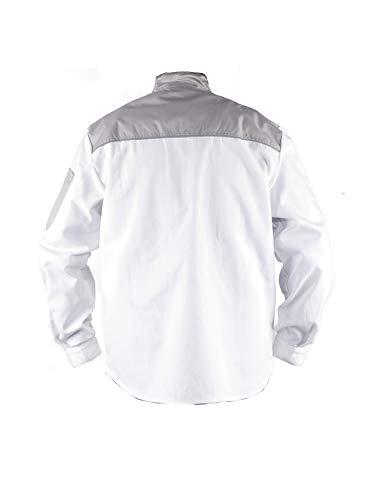 Uomo Imbianchino Tmg® Leggera E Giacca Da Lavoro Per Bianco Resistente ff1FWS