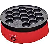 Electric Japanese Takoyaki Pan - Medium Sized (18 molds) - Made in Japan