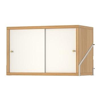 Amazon Ikea Cabinet With 2 Doors Bamboo White 22888263830