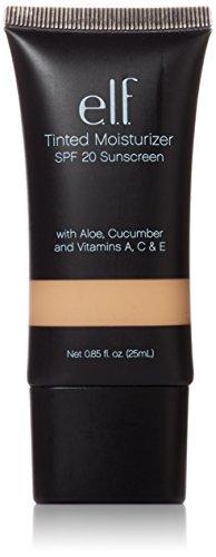 e.l.f. Cosmetics Tinted Moisturizer, Light Coverage, UVA/UVB SPF 20 Protection, Porcelain, 0.88 Fluid Ounces