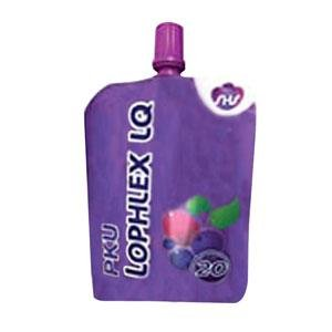 PKU Lophlex LQ 125 mL Pouch, Mixed Berry Blast