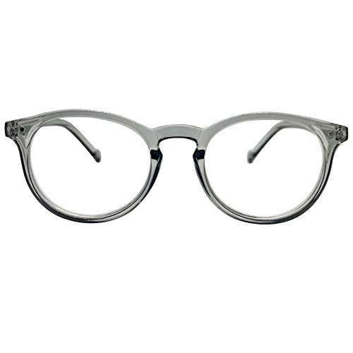Seattle Premium Reading Glasses (Clear Grey, 1.50)