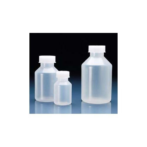 Vitlab Polypropylene Wide Mouth Reagent Bottle With Polypropylene Screw Caps, Thread Finish GL45, 500mL Capacity (Pack of 10) Thomas Scientific V101789