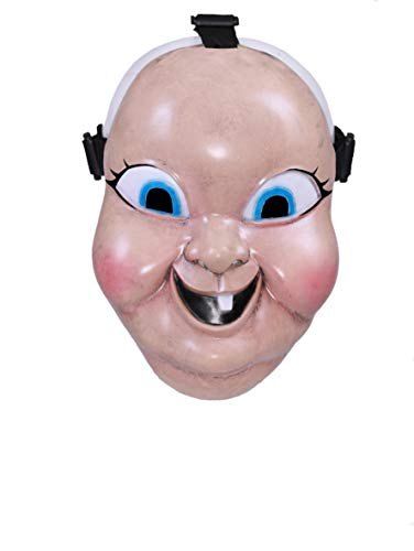 (Happy Death Day Mask Face Mask Latex Cosplay Prop for Men Women)
