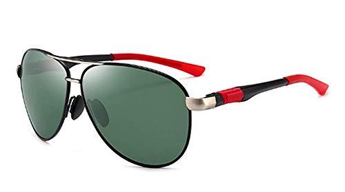 (GONGFF Sunglasses Men's Polarized Sunglasses Classic Driving Mirror Ink)