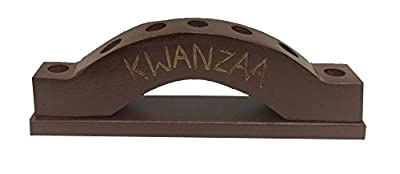 African Heritage Collection Kwanzaa Arc Candleholder - Made in Ghana